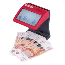 Детектор банкнот ИК DoCash DVM mini (red)