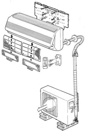 Фильтры,запчасти и материалы для монтажа кондиционеров